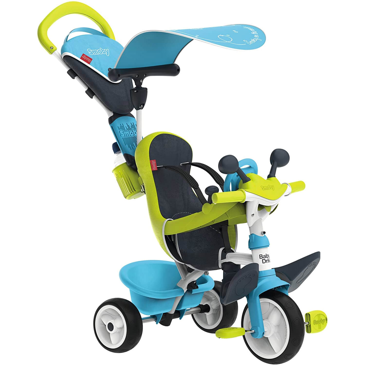 Tricycle Baby Driver Confort : Bleu