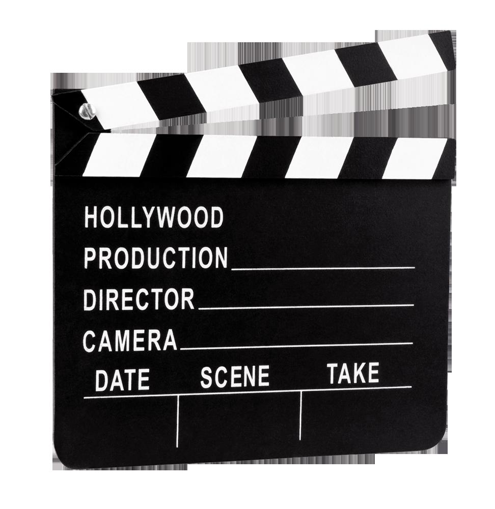 Clap de Tournage Hollywood