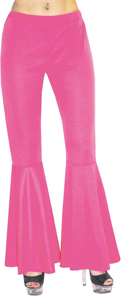 Pantalon à Patte d?Éléphant - Hippie / Disco - Rose - Femme
