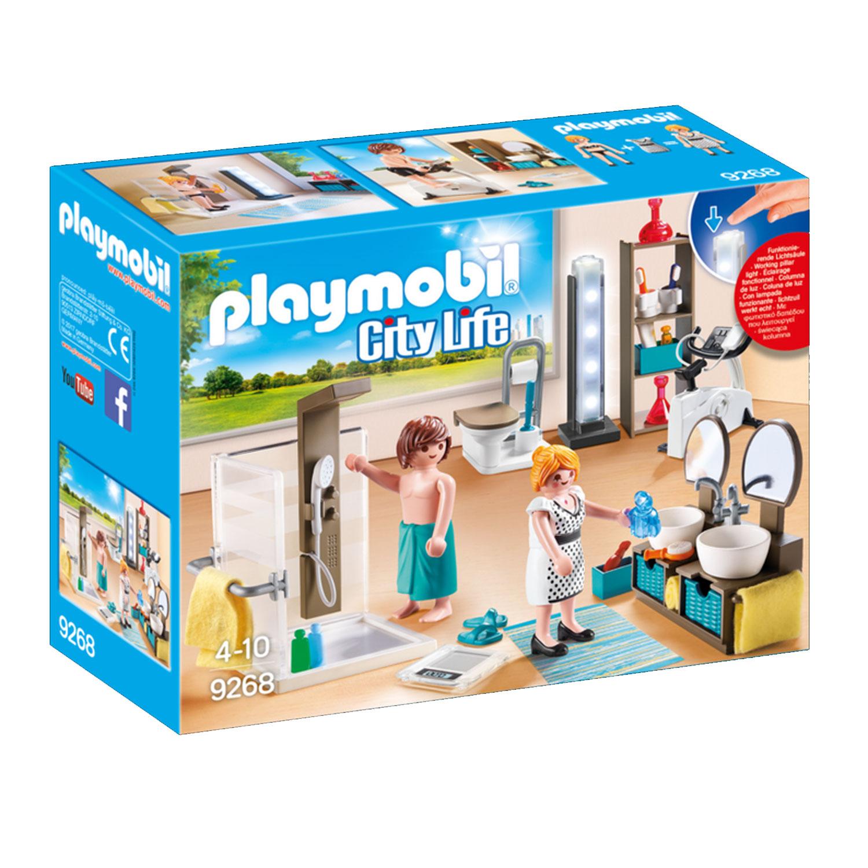 Playmobil 9268 City Life : Salle de bain avec douche à l'italienne