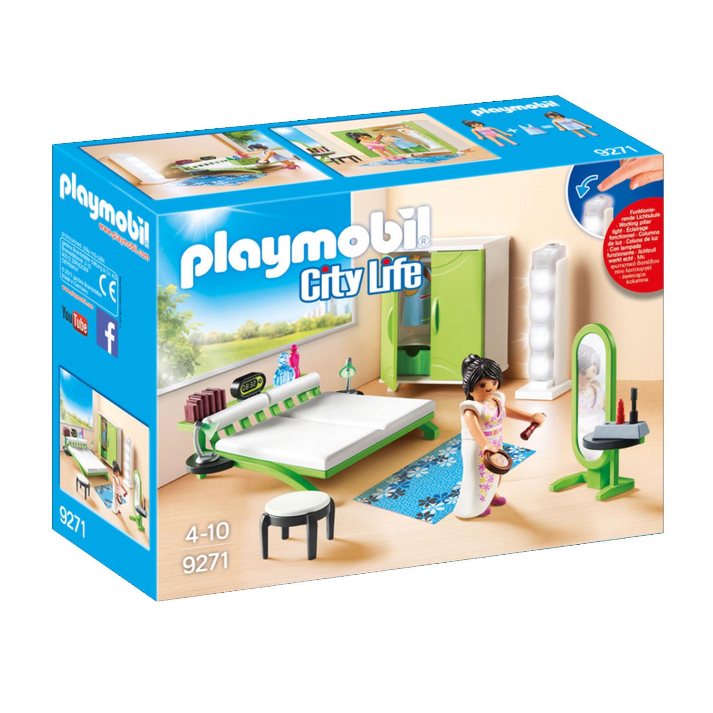 Playmobil 9271 City Life : Chambre avec espace maquillage