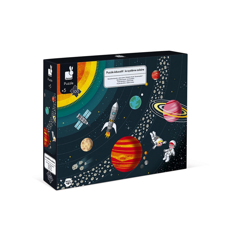 Puzzle 100 pièces : Système Solaire