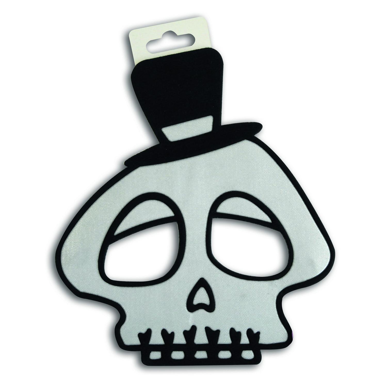 Masque Souple Maskoweenies : Squelette blanc