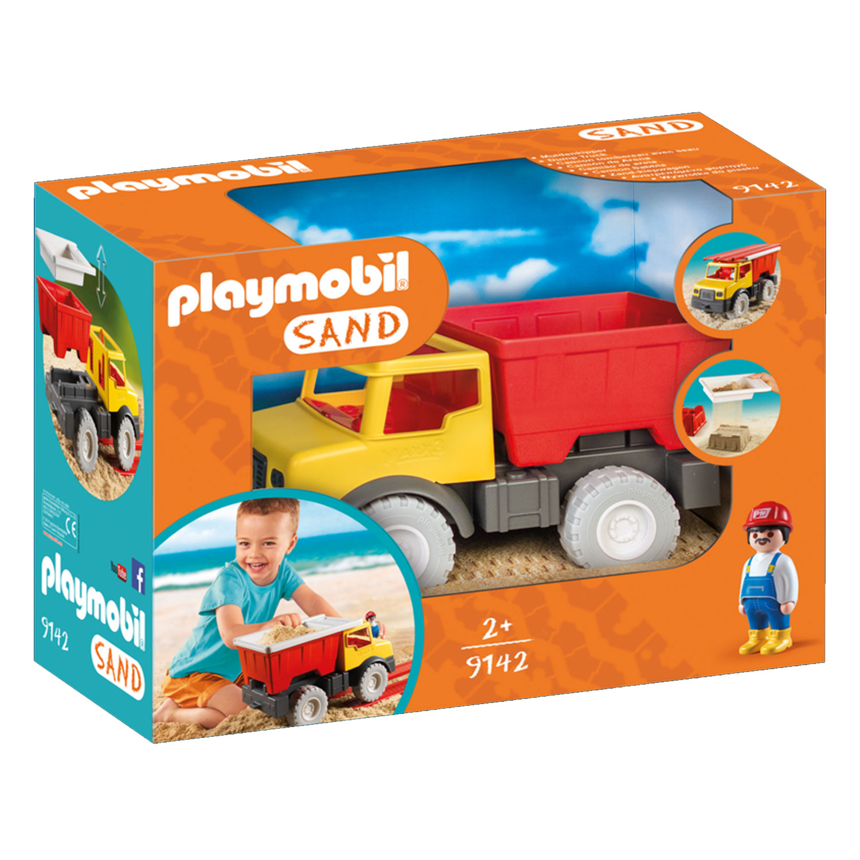 Playmobil 9142 Sand : Camion tombereau avec seau