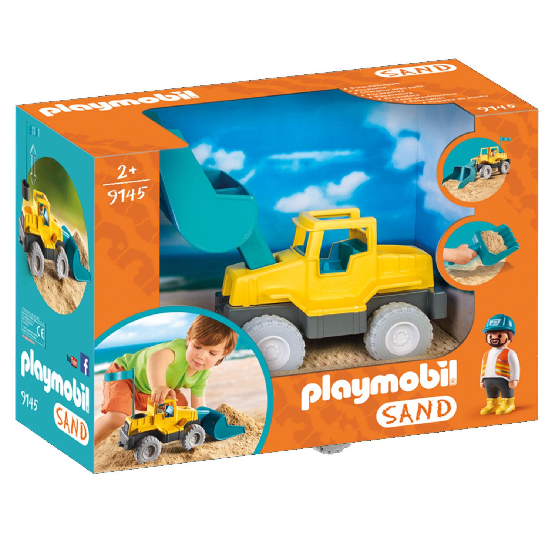 Playmobil 9145 Sand : Chargeur avec pelle