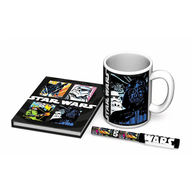 Coffret Star Wars : Mug, stylo et carnet