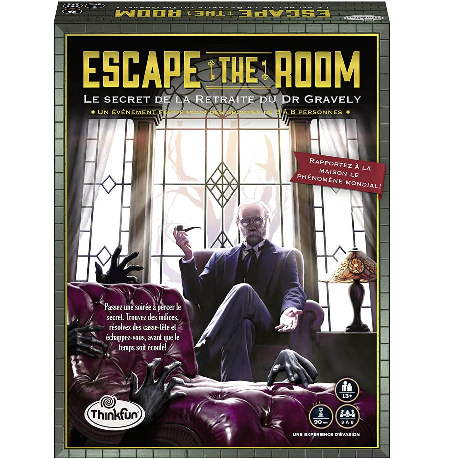 Jeu Escape The Room : Le secret de la retraite du Dr Gravely