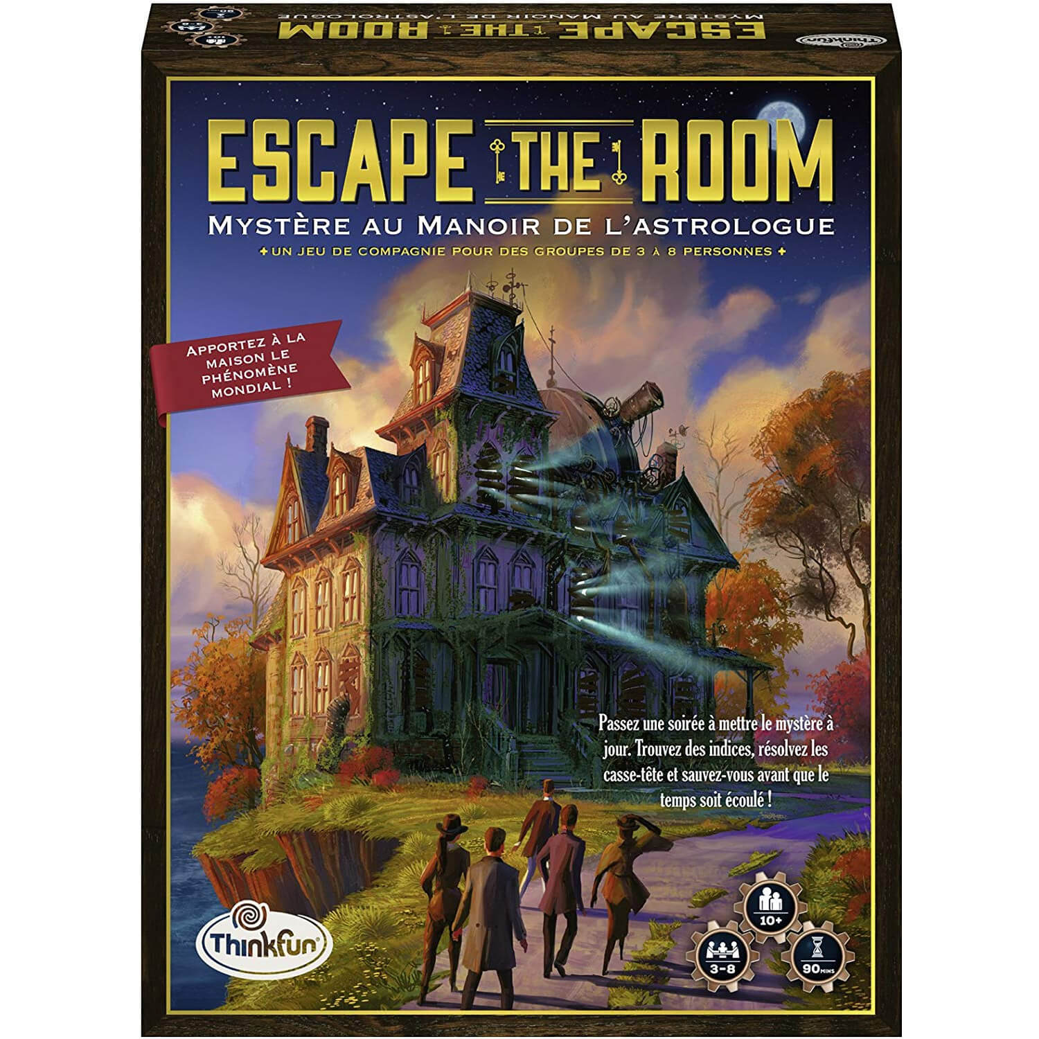 Jeu Escape The Room : Mystère au manoir de l'astrologue