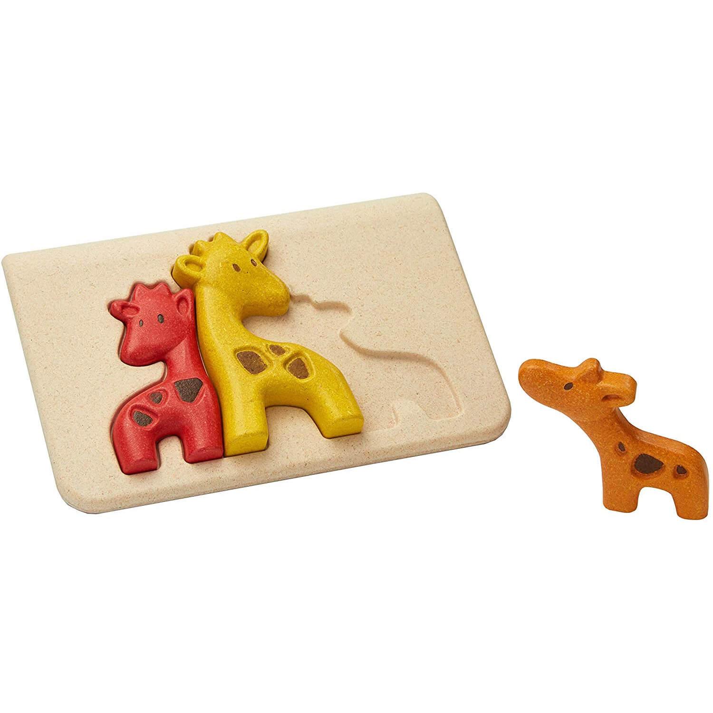 Mon premier puzzle girafe