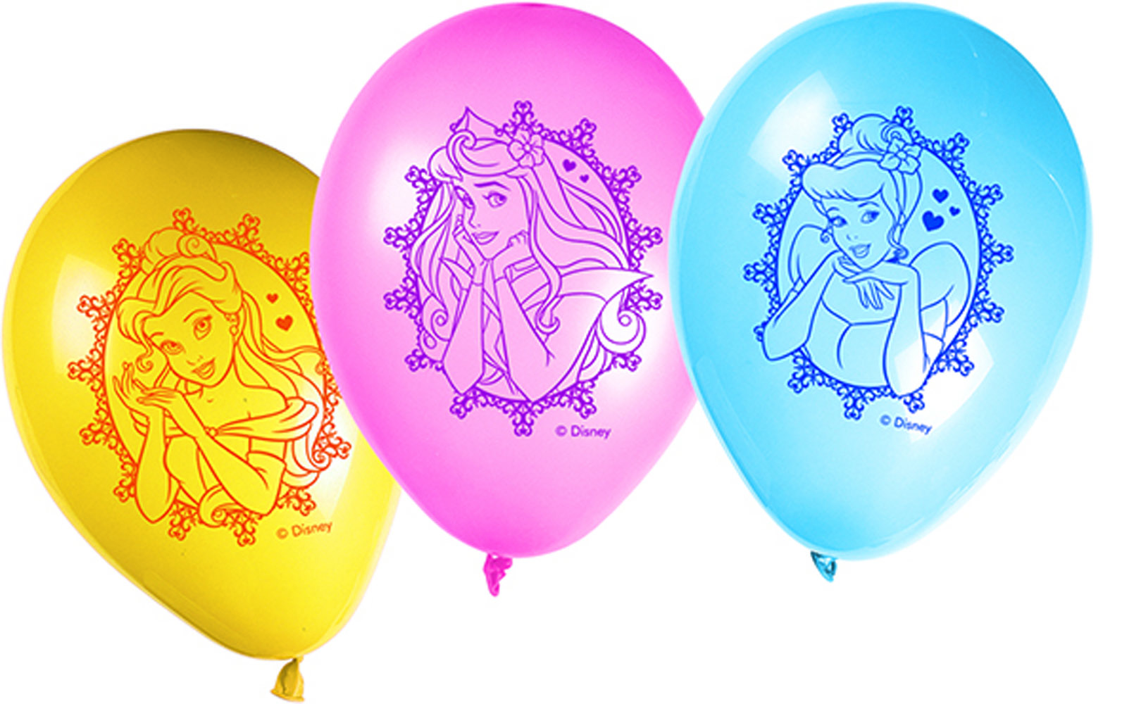 Ballon Princesse Glamour - Disney? x8