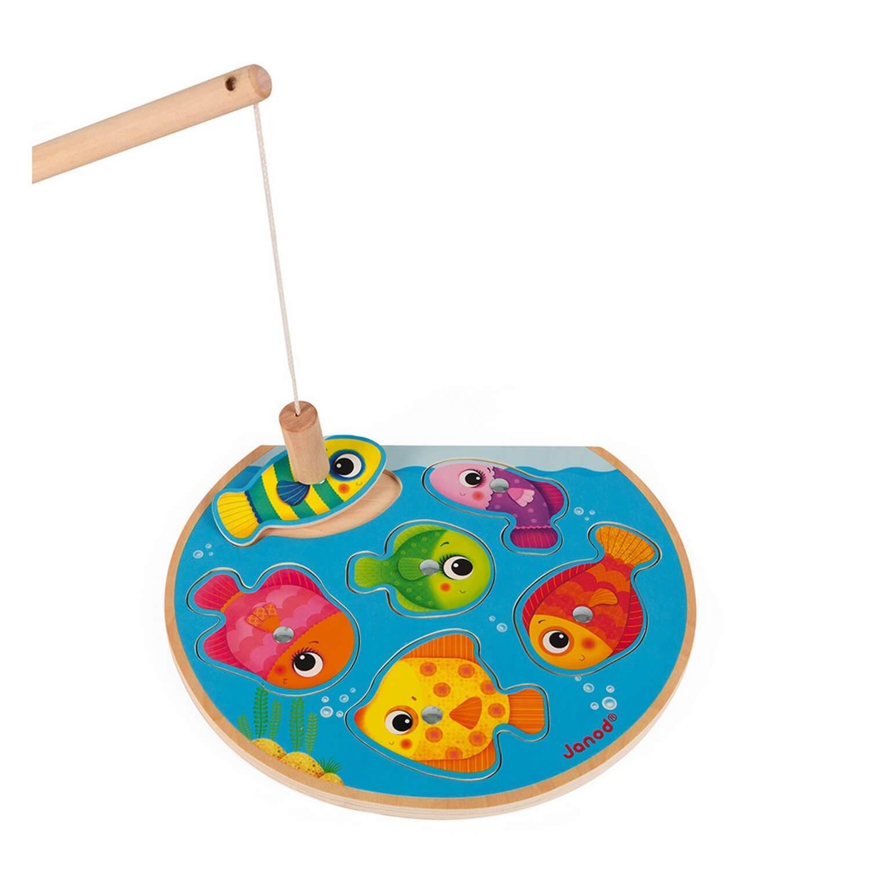 Puzzle 6 pièces : Speedy fish