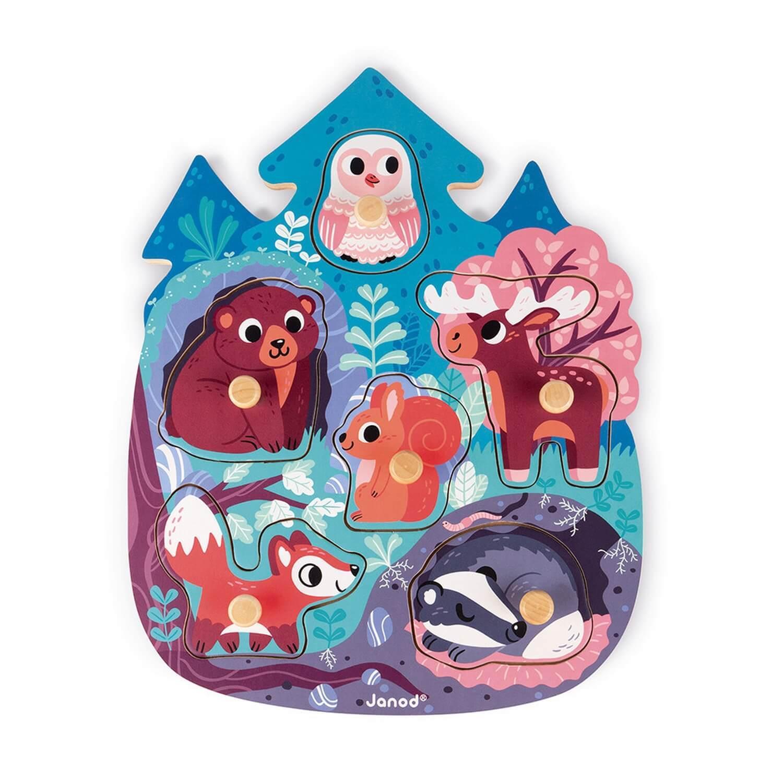 Puzzle 6 pièces : Happy Forest
