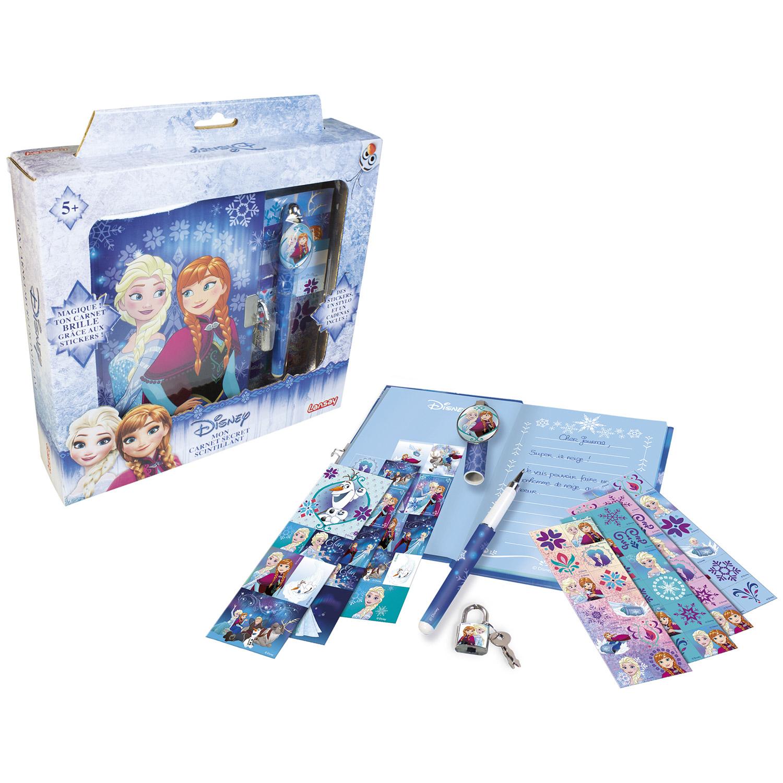 Mon carnet secret scintillant La Reine des Neiges (Frozen)