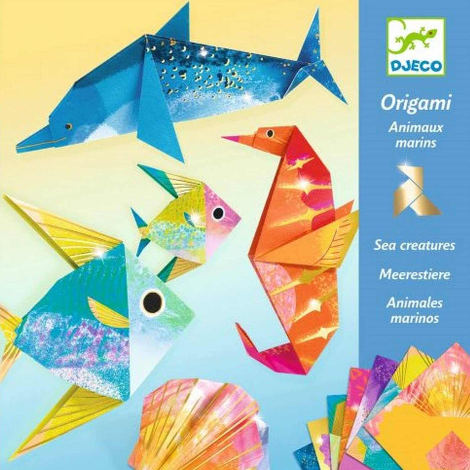 Origami : Animaux marins