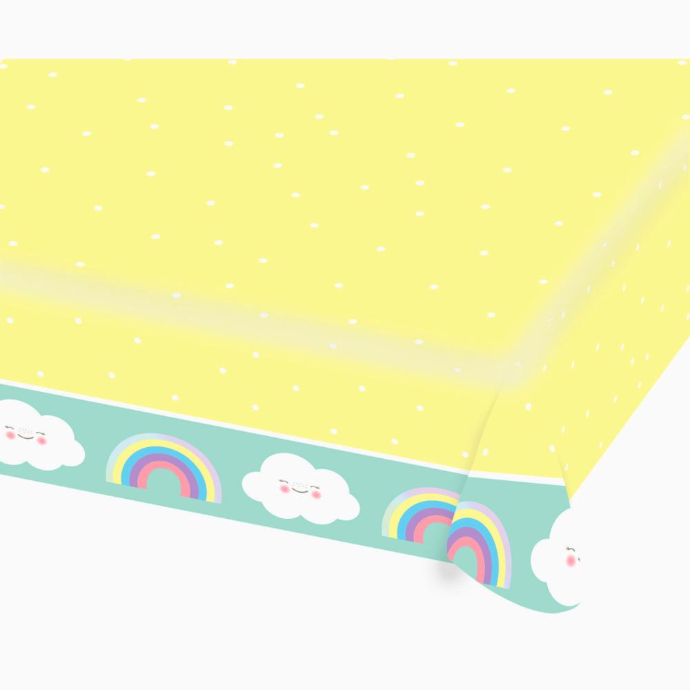 Nappe en Papier Rainbow & Cloud