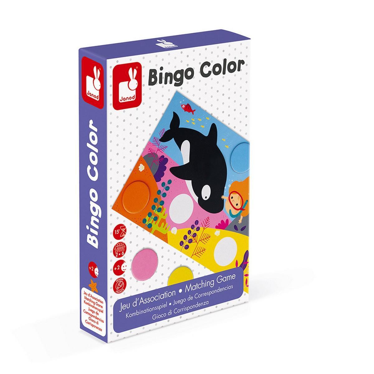 Jeu d'association : Bingo Color