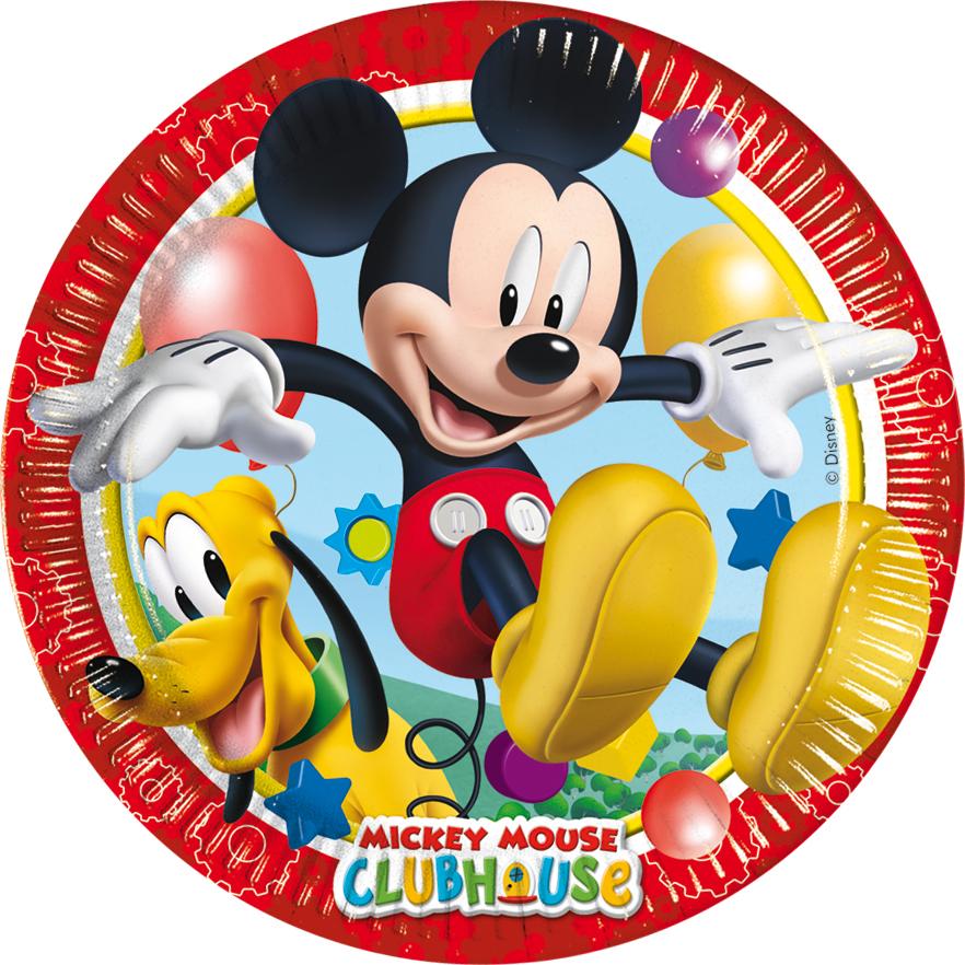 Assiettes Mickey Disney?