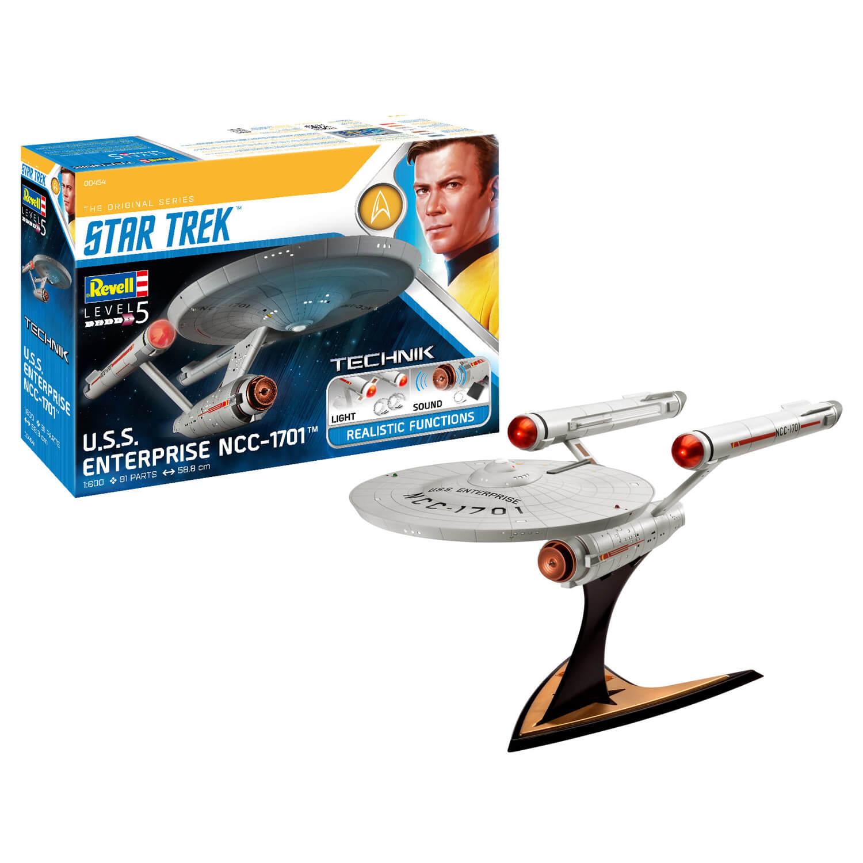Maquette Star Trek : USS Enterprise NCC-1701