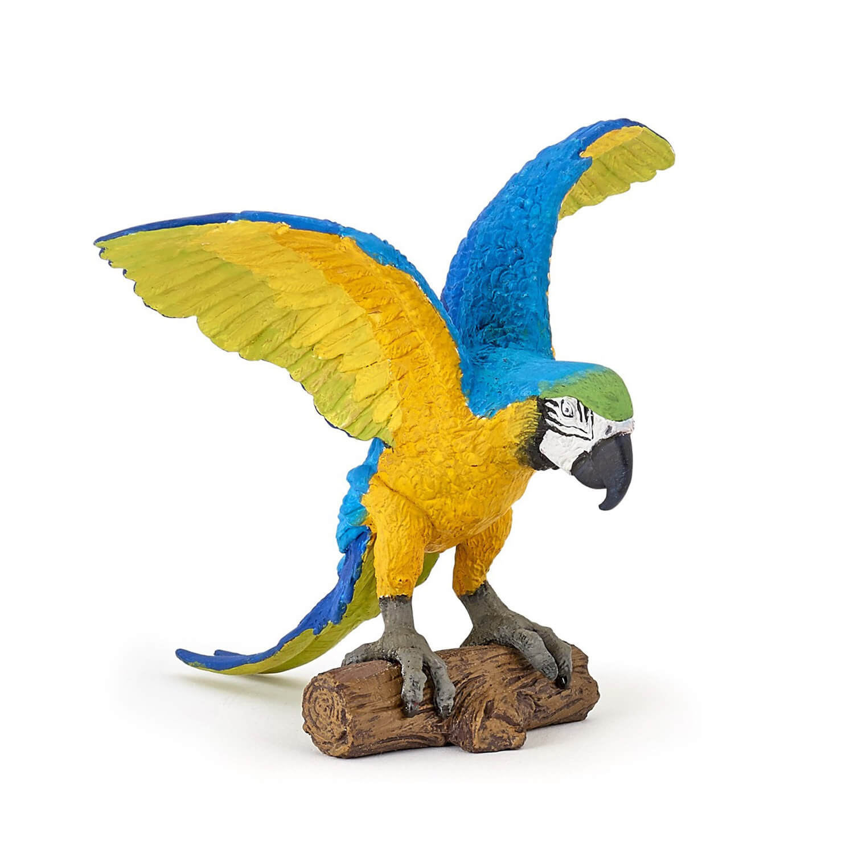 Figurine Perroquet : Ara Bleu