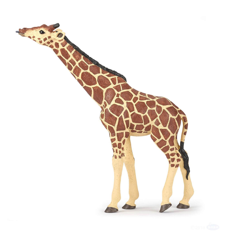 Figurine girafe tête levée