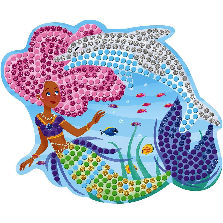 Kit Créatif : Mosaïques Dauphins et Sirènes