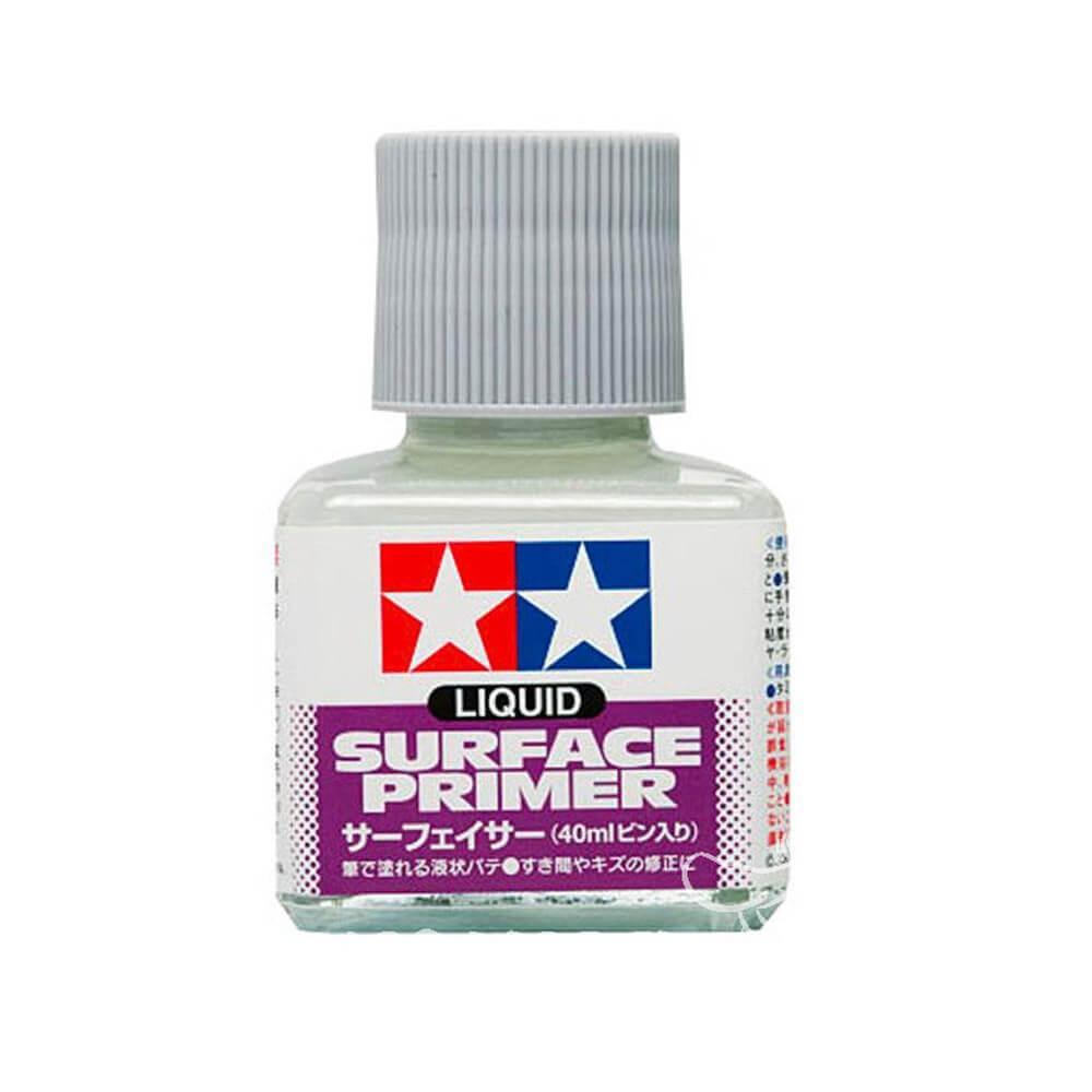 Apprêt liquide gris : 40 ml