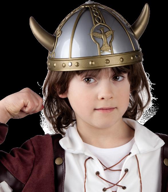 Casque de Guerrier Viking Enfant