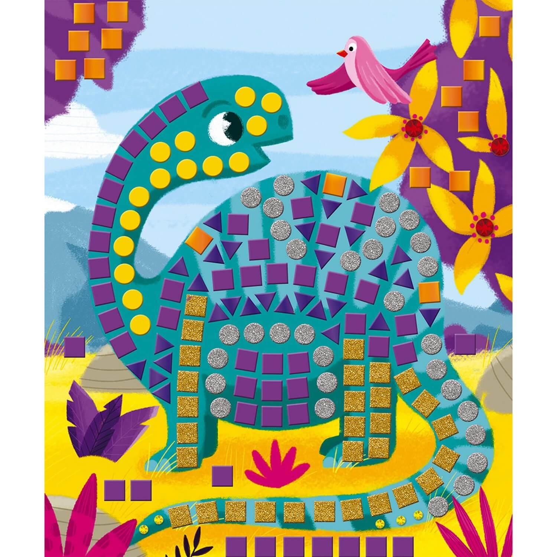 Kit Créatif : Mosaïques Dinosaures