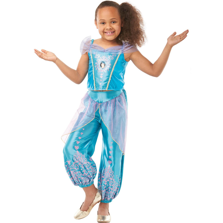 Déguisement classique Disney Princess? - Gem Princesse Jasmine? : Taille 3/4 ans