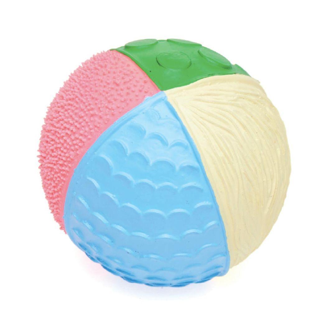 Balle texturée pastel