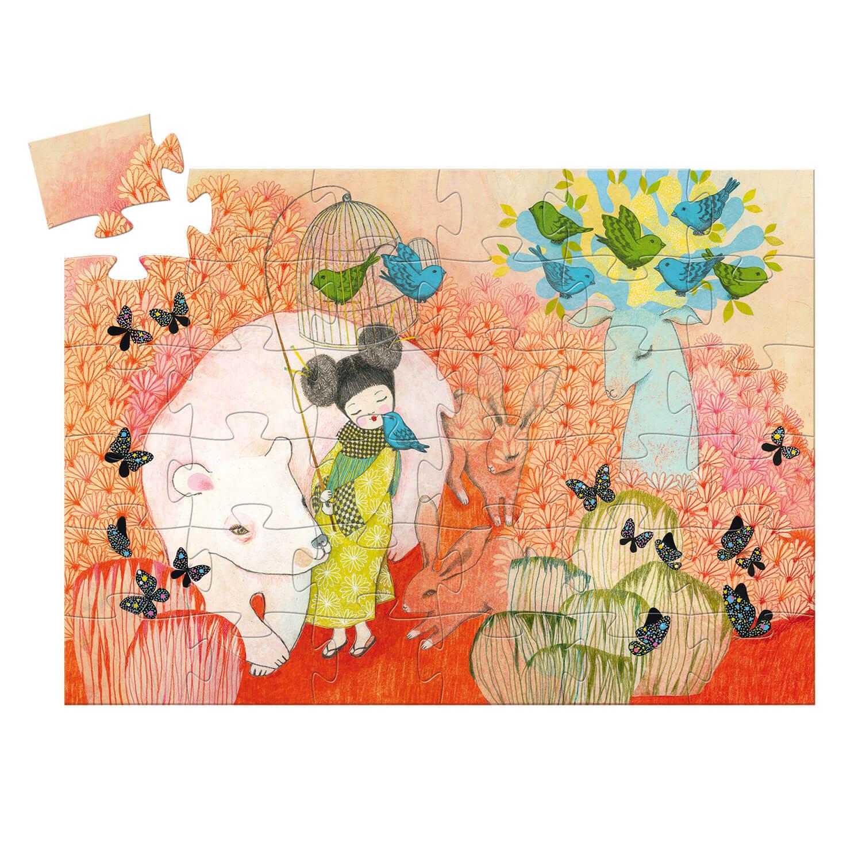 Puzzle Silhouette 36 pièces : Kokeishi