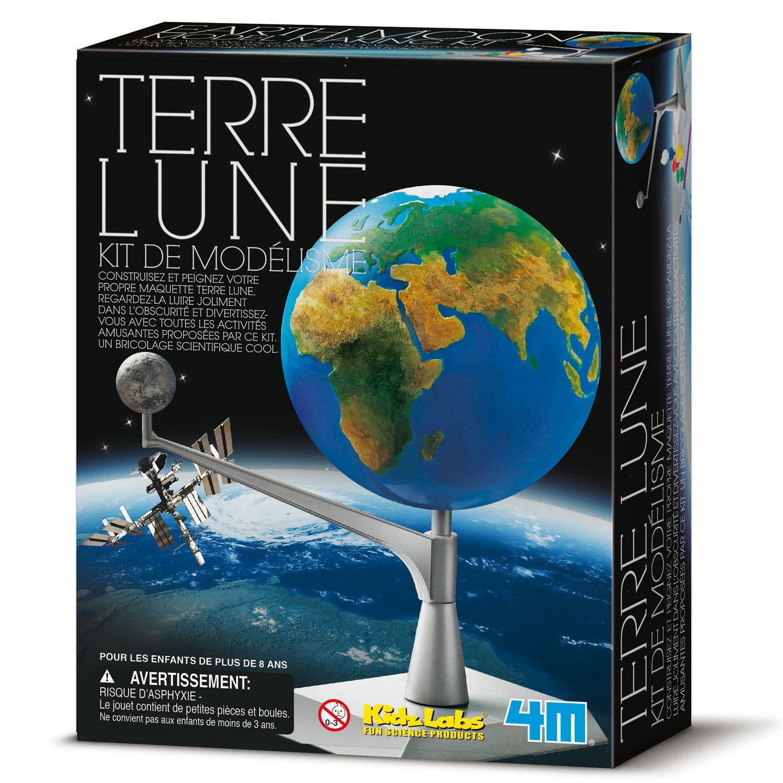 Kit de modélisme : Espace : Terre et Lune
