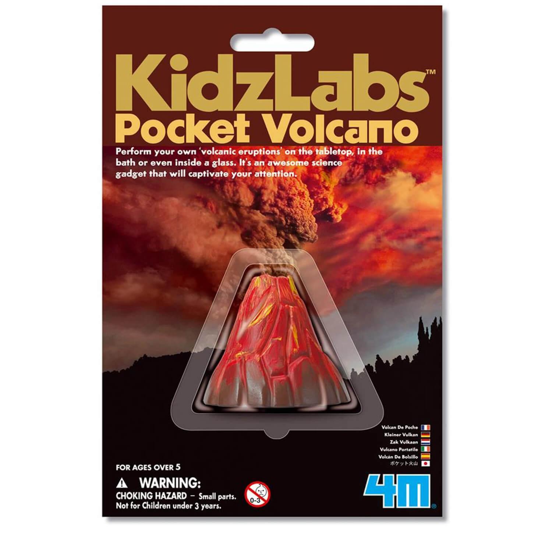 Expérience Science Card : Mini-Volcan