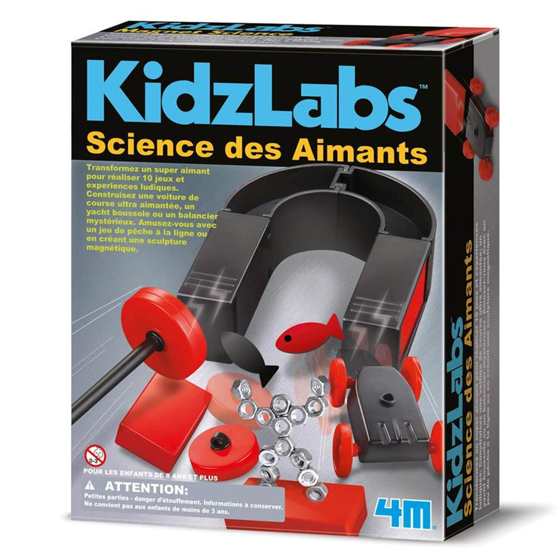 Expérience Science Card : Magnet