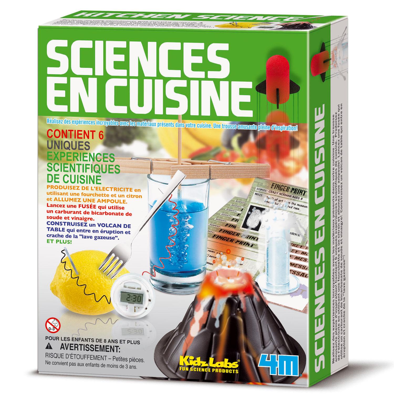 Expériences Science : Autour de la cuisine