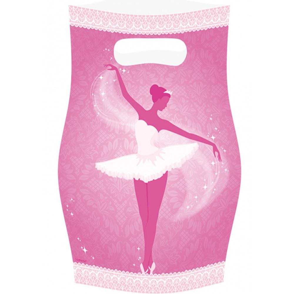 Sachets Anniversaire Danseuse Ballerine x8
