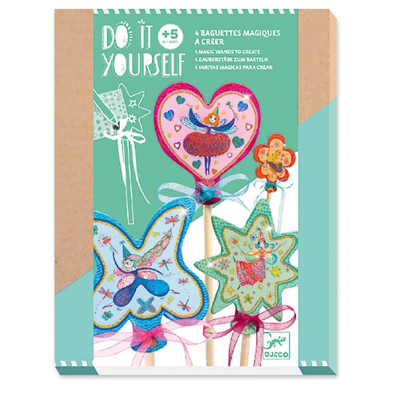Kit créatif : Baguettes magiques : Petites fées