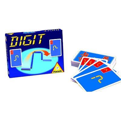 Jeu de cartes Digit