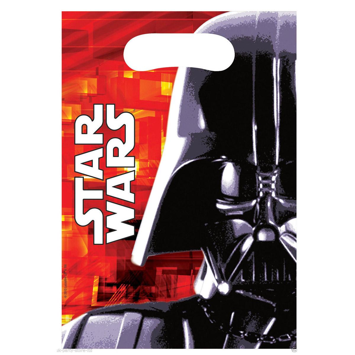 Sachets anniversaire Star Wars x6