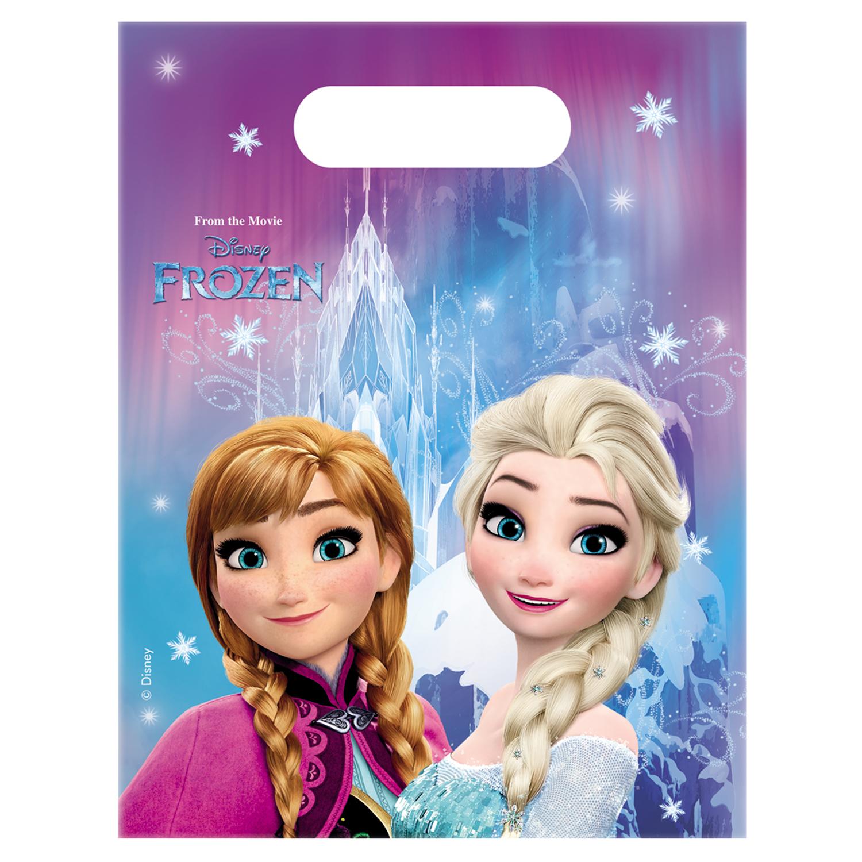Sachet Anniversaire : La Reine des Neiges (Frozen) x6