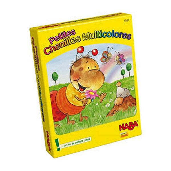 Jeu de cartes Petites chenilles multicolores