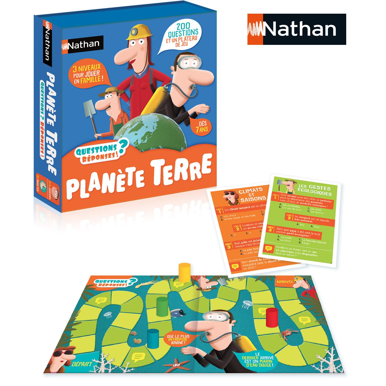 Jeu de questions réponses : Planète terre