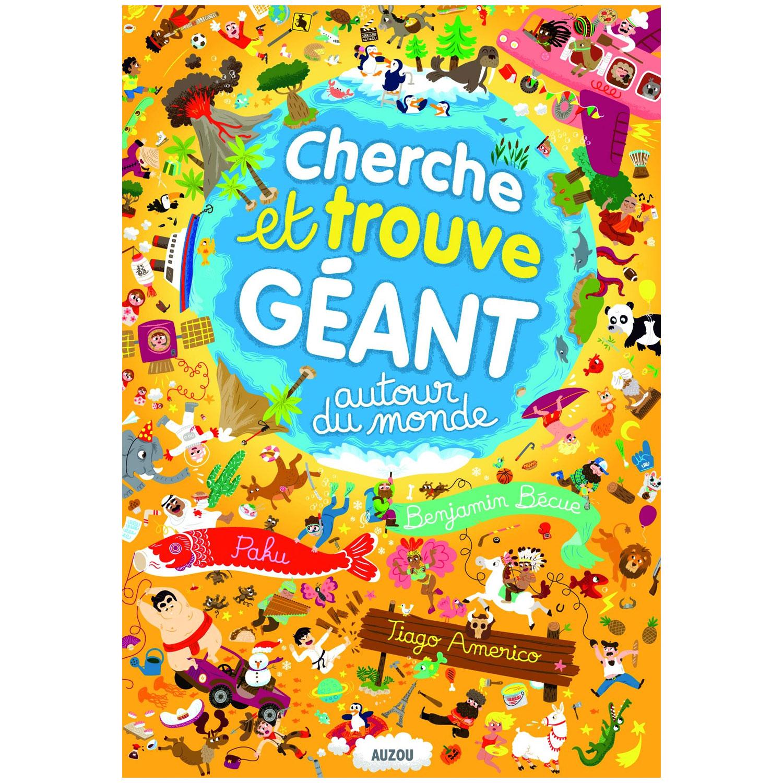 Livre Geant Cherche Et Trouve Autour Du Monde