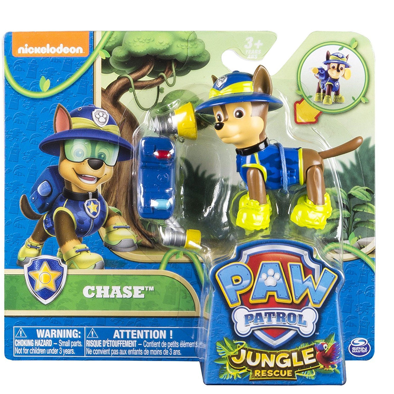 Figurine Pat Patrouille Paw Patrol Jungle Rescue Chase