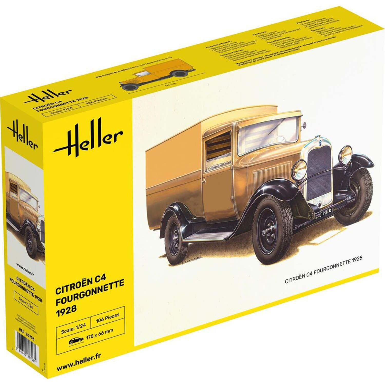 Maquette Vehicule Citroen C4 Fourgonnette 1928
