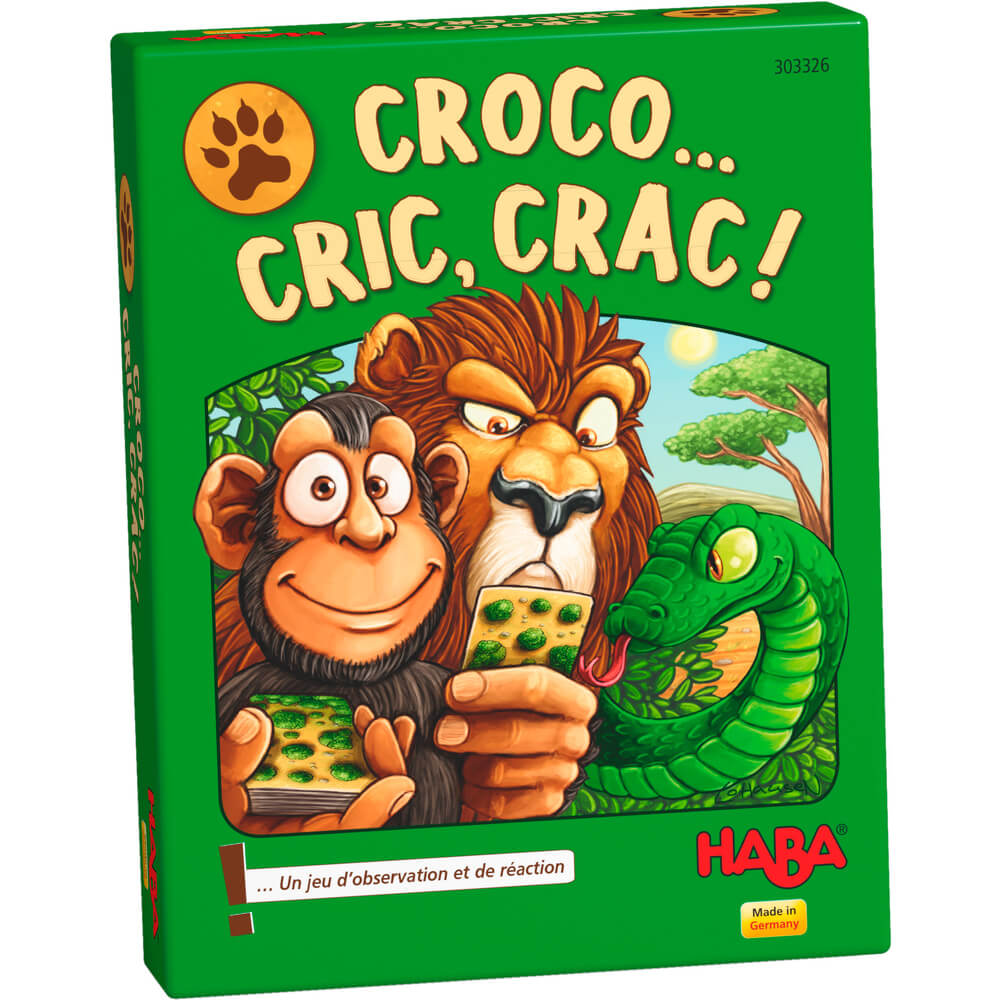Jeu de cartes : Croco... cric, crac !