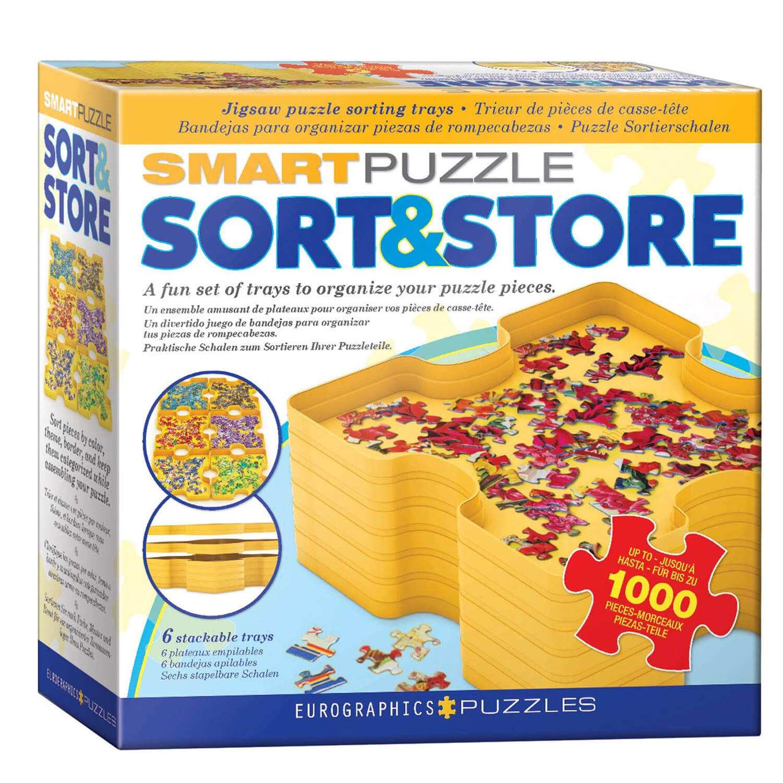 Smart Puzzle Sort & Store : Trieur de puzzle jusqu'à 1000 pièces