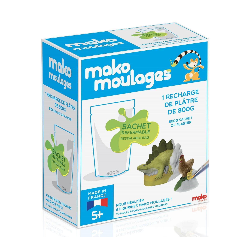Moulage en plâtre Mako Moulages : Recharge de plâtre