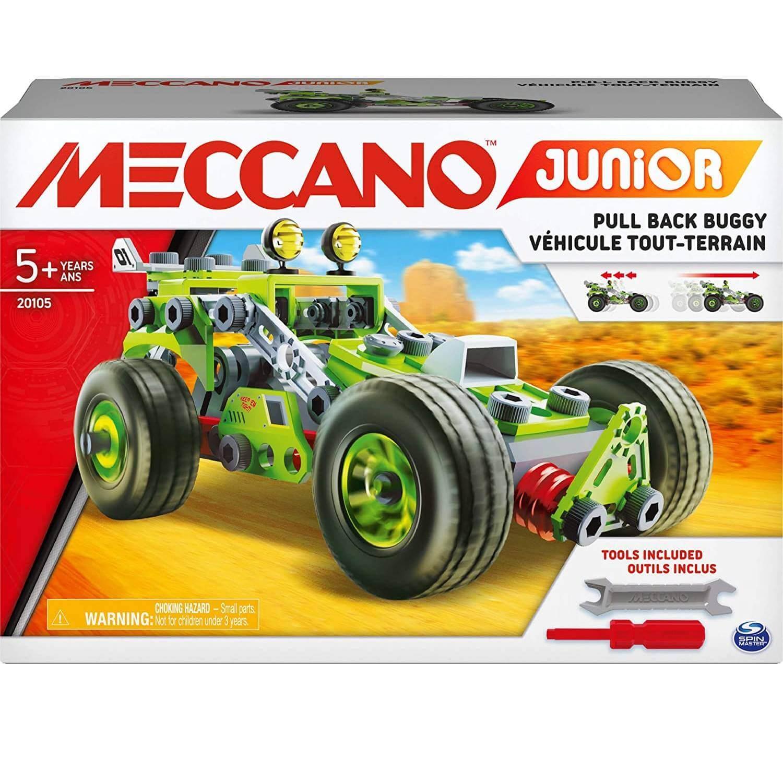 Meccano : Ma voiture à rétrofriction