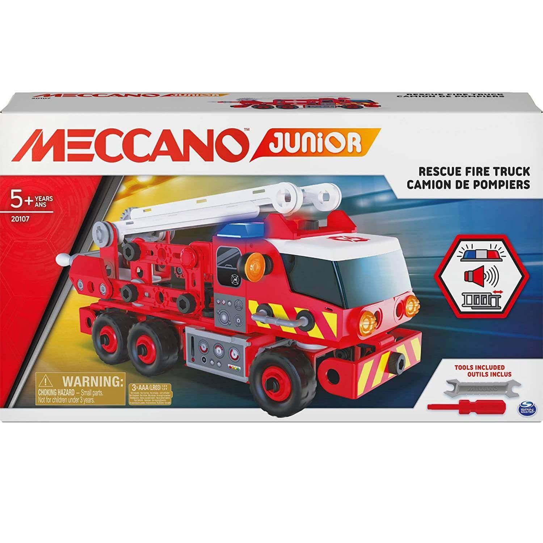 Meccano : Camion de pompiers